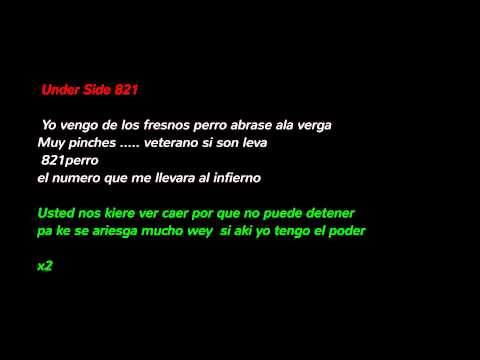 Nos Quiere Ver Caer - Under Side 821 Ft. Milicia Kallejera (LETRA) 2014