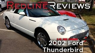 2002 Ford Thunderbird Review, Walkaround, Start Up, Test Drive