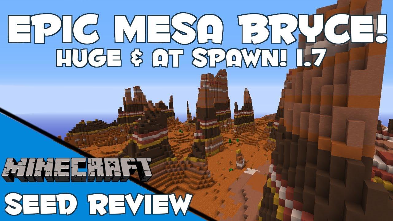 Minecraft 1.7 Biomes Mesa at Spawn Minecraft 1.7.2