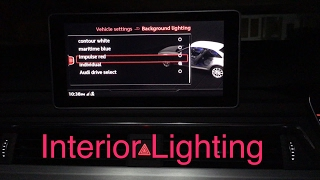 How To Change Audi A4 Interior Light B9 2017