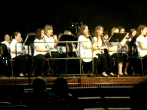 Woodland Middle School Winter Concert 2012