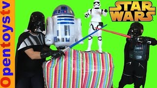 toys unboxing star wars and kids toys surprise with opentoystv kids channel for boys and for girls