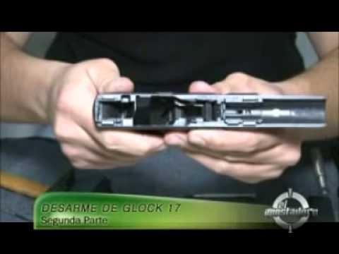 CESBA. Desarme Glock 17. Segunda parte.
