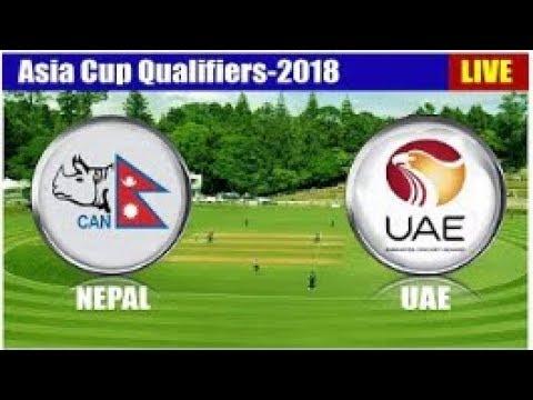 Nepal vs UAE Live Stream   Asia Cup Qualifier