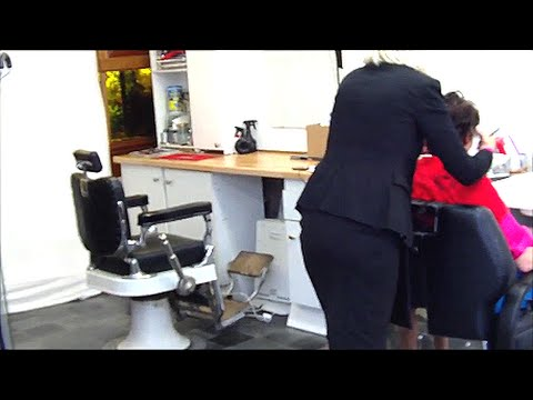 "Deborah""s Barber Shop HairCut Trailer"