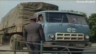"""МАЗ-504А, грузовик-тягач из к/ф """"Три дня на размышление"""" (1980)."""
