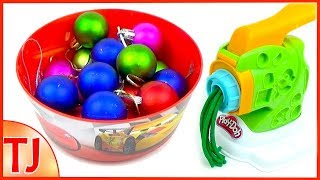 Learn Colors with Play Doh Pasta Machine DIY Making Spaghetti Surprise Eggs Toys for Kids