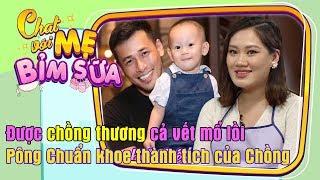 TIN TỨC SAO VIỆT | BÁC SĨ HOA SÚNG Pông Chuẩn khoe thành tích chăm con của Tùng Min 😎