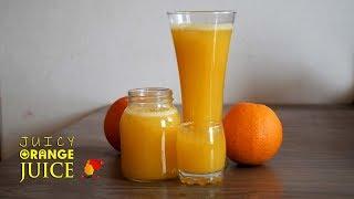 *Ninja technique in 3 minutes | Only 3 ingredients Homemade fresh orange juice for better refreshing