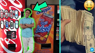 Life Of A Teen VENDING Machine BUSINESS Owner!!