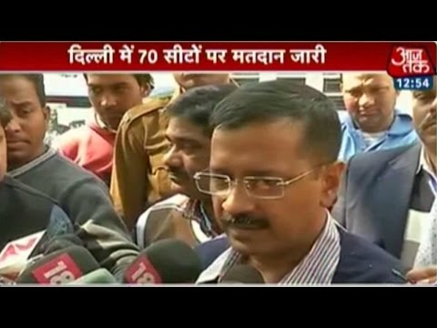 Delhi election is getting one-sided: Kejriwal