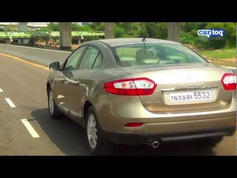 Renault Fluence petrol CVT 2.0 Video Review - Petrol mid-size sedan car reviews India
