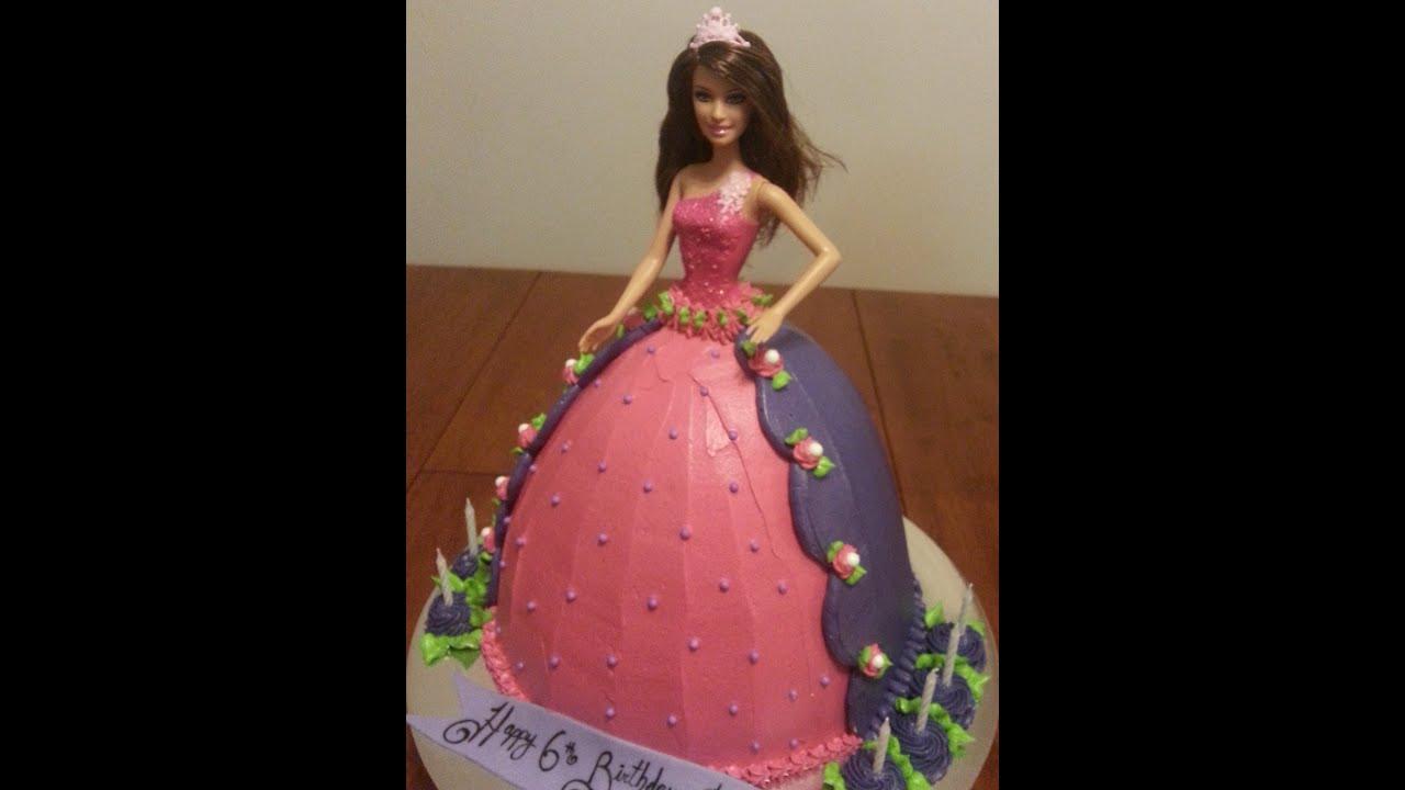 Doll Cake Dresses Cake / Doll Cake pt 1 of 3