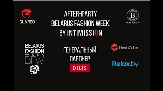 After-party Belarus Fashion Week by Intimission