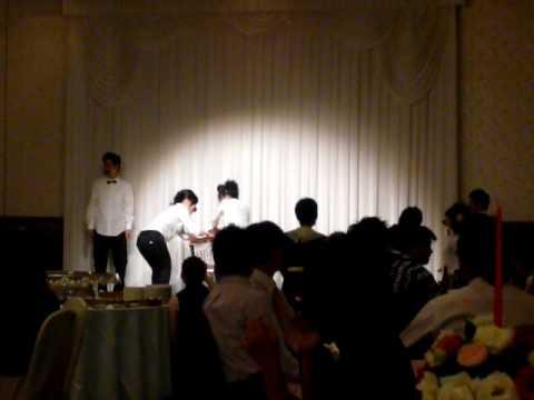 結婚式余興 ヒゲダンス プラザ仲間