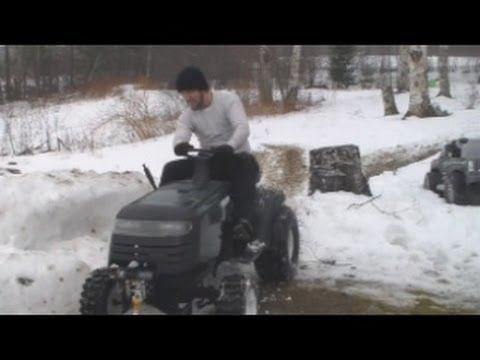 Mud Mower Snow Romp