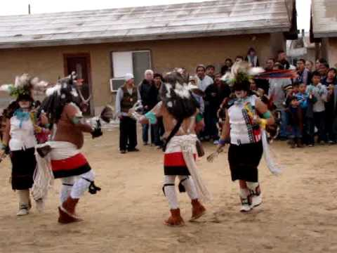 Hopi Buffalo Dance Kykotsmovi Jan. 2009 part 1