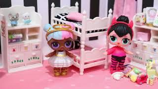Lol Überraschung Gegensätze Clubmorgen Routine! Spielzeug Und Puppen Spaß Für Kinder & Babypuppe Sp