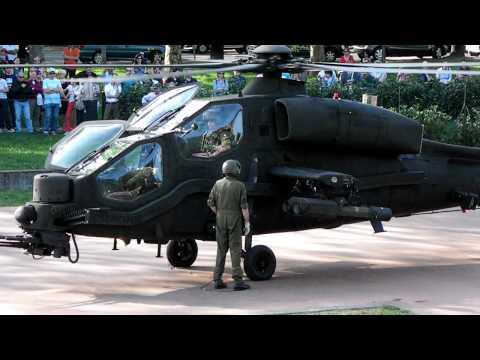 Partenza Agusta-Westland AW-129 Mangusta. Exponiamo Dalmine (BG)