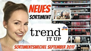 Sortimentsumstellung bei TREND IT UP von dm (September 2017) | Lena's Lifestyle