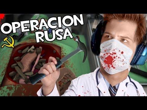 NUNCA TE FIES DEL MEDICO RUSO   Surgeon Simulator 2013