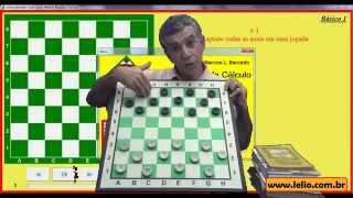 Como calcular combinações no jogo de damas com o Treinamento de Cálculo