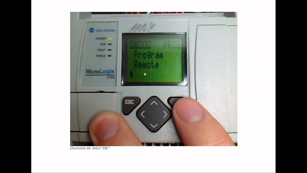 Video Tutorial Rslogix Micrologix 1100 Programming Youtube