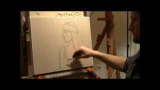Painting PARIS 1: The Underdrawing