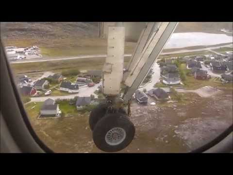 de Honningsvag a Hammerfest en  DASH 8