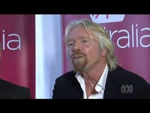 Sir Richard Branson and John Borghetti - Virgin Australia