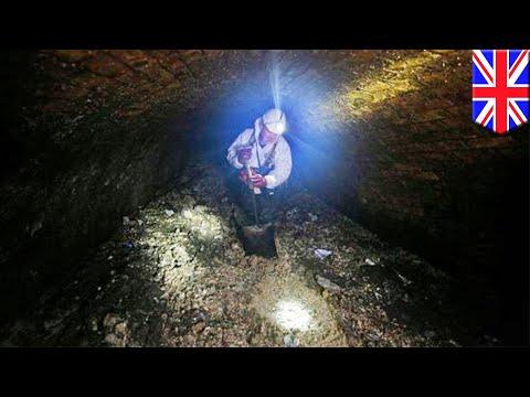 倫敦地下水道發現巨無霸地溝油塊 噸位可比藍鯨
