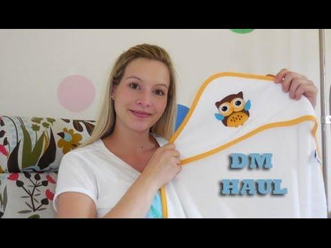 DM Baby Einkauf - Erstausstattung [Haul] 38. SSW I Schwanger I Schwangerschaft I MamaBirdie
