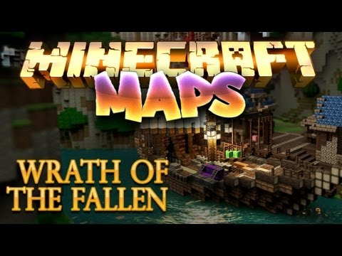 MINECRAFT MAPS HD+ S01E01 Wrath of the Fallen #01 ★ Minecraft Adventure Maps