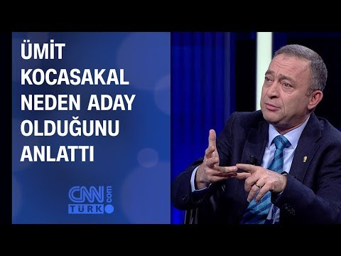 Ümit Kocasakal neden aday olduğunu anlattı