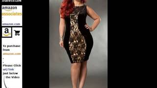 Plus Size Women's Clothing, Plus Size Clubwear Dresses Romance