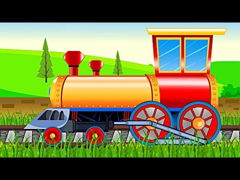 Train | Formation & Uses | Kids Videos | Learn Transports