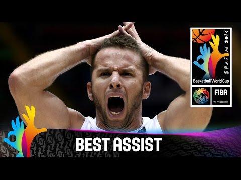 Puerto Rico V Greece - Best Assist - 2014 Fiba Basketball World Cup video
