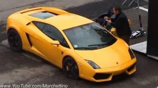 Lamborghini LP560-4 vs Porsche GT3RS vs Nissan GTR