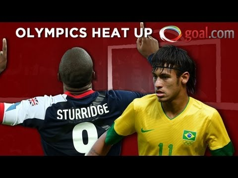 Football at London 2012 - Men's tournament hots up