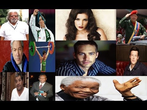 Dificil De Creer Famosos Fallecidos En El 2013 No Llegaron Al 2014   Famous People That Died In 2013