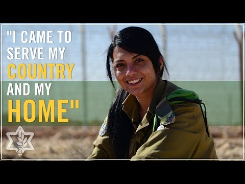 Female Arab Soldier: i Came To Serve My Country And My Home video