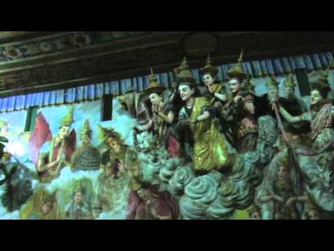 Sri Lanka, Negombo, An Amazing Buddhist Temple video
