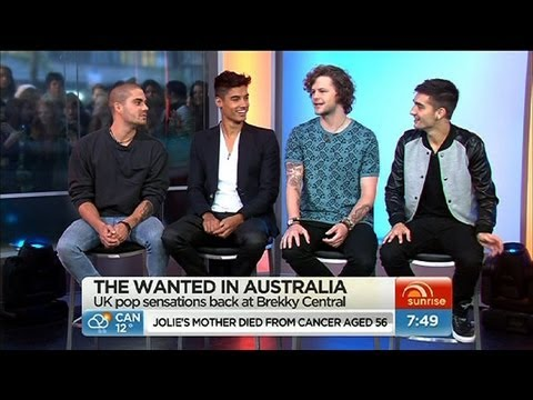 Sunrise - The Wanted in Australia