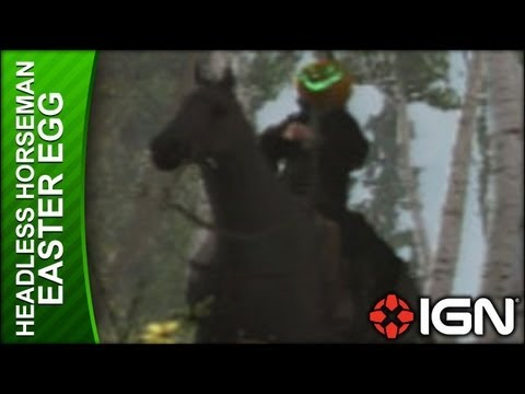 Assassin's Creed 3 - Headless Horseman Easter Egg