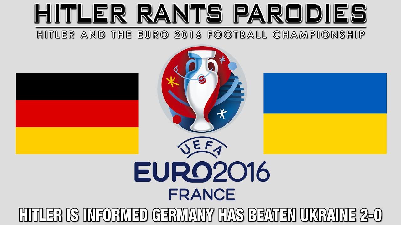 Hitler is informed Germany has beaten Ukraine 2-0