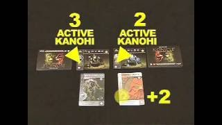The Bohrok Awake Trading Card Game Video Demonstration