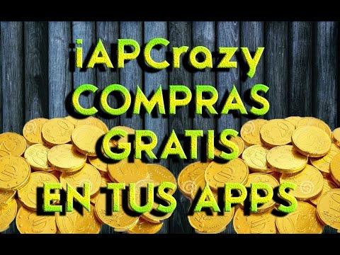 iAPCrazy iOS 7.1.2 Compras, monedas y oro !!GRATIS!! en tus juegos y apps.