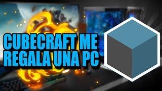 °ME REGALARON UN PC GAMER CUBECRAFT GAMES! 2018 betillo