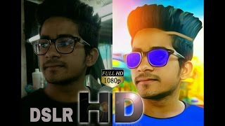 DSLR Look In Mobile Photo | How To Edit Mobile Pic To DSLR Pic By Picsart | Best Picsart Creation