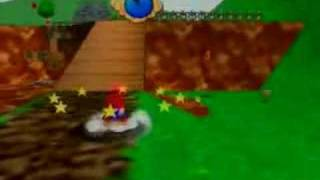 Super Mario 64 Intro and Gameplay (Wii Virtual Console)